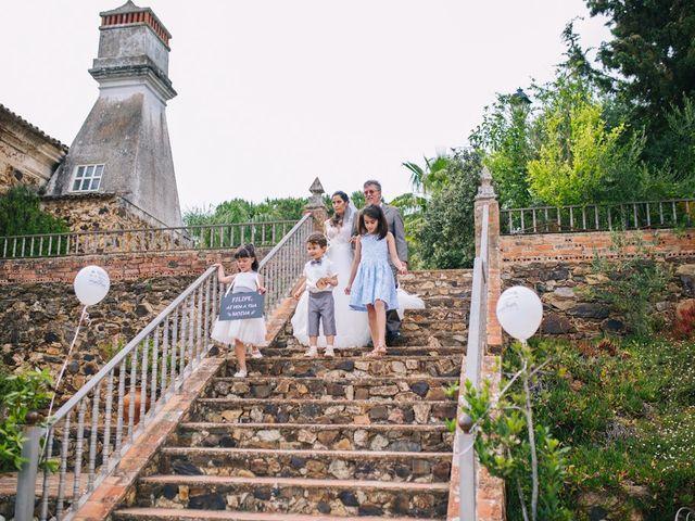 O casamento de Filipe e Marta em Monchique, Monchique 18