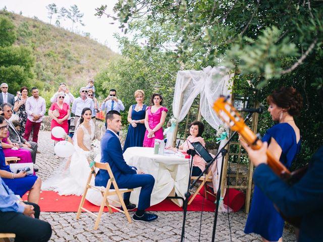 O casamento de Filipe e Marta em Monchique, Monchique 22