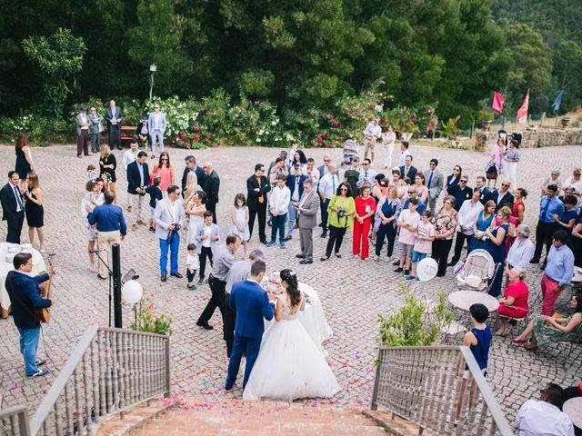 O casamento de Filipe e Marta em Monchique, Monchique 34