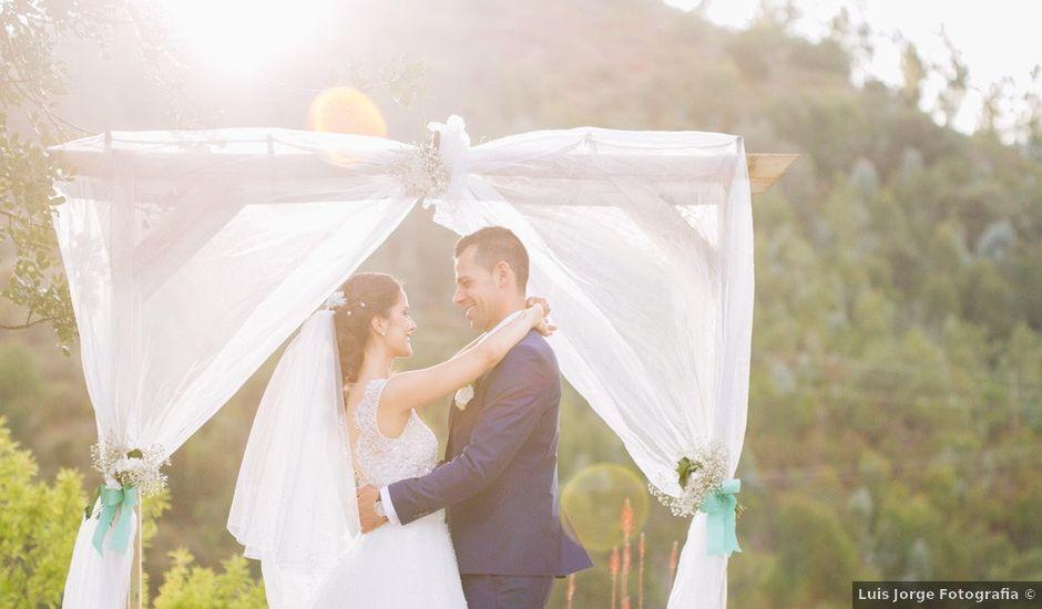 O casamento de Filipe e Marta em Monchique, Monchique