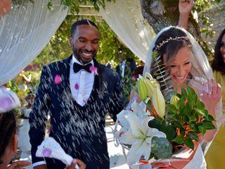 O casamento de Brunilde e Armando