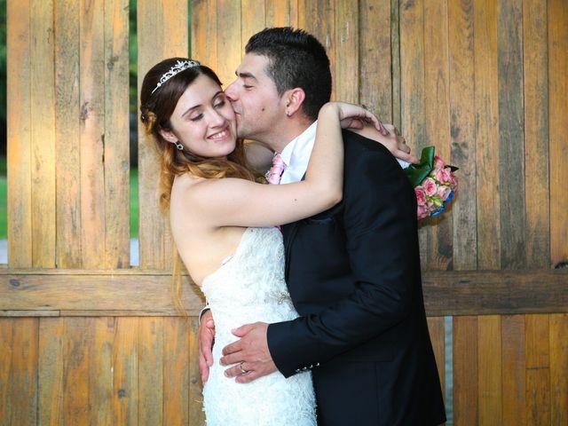 O casamento de Cátia e Silvino
