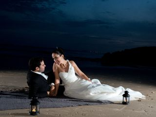 O casamento de Alexandra e Romeu