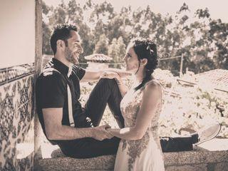 O casamento de Evita e André