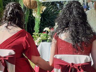 O casamento de Sandra e Maria del Carmen
