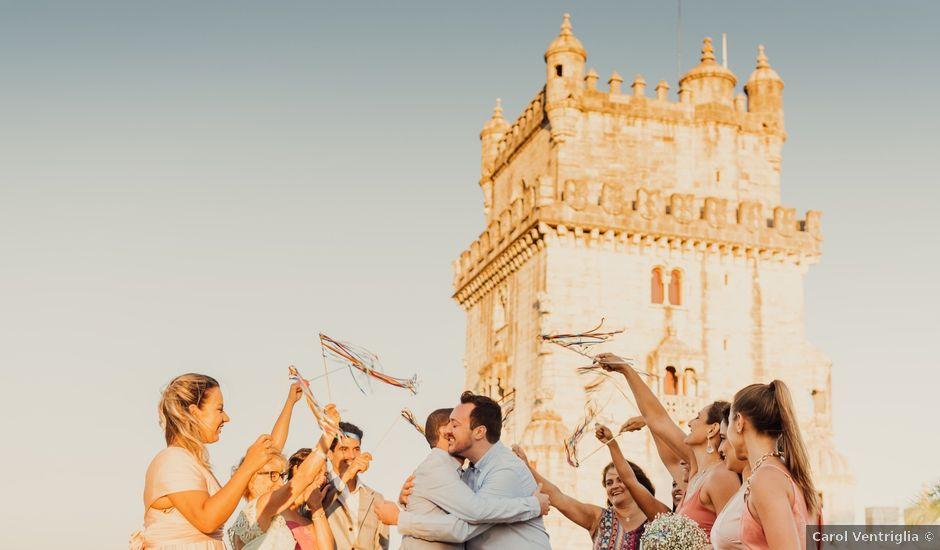 O casamento de Vini e Saint Clair em Lisboa, Lisboa (Concelho)