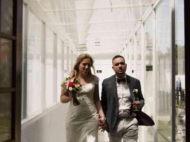 O casamento de Marlene e Dino