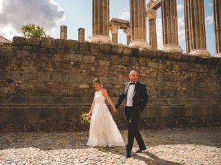 O casamento de Mário e Micaela