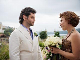 O casamento de Elene e Boris 1