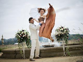 O casamento de Elene e Boris