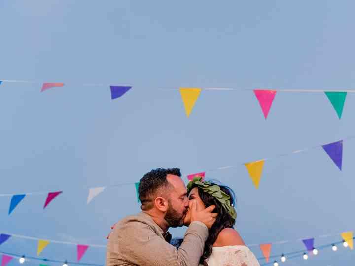 O casamento de Paula e Valter