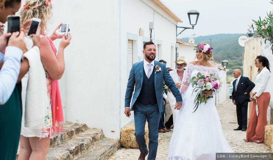 O casamento de Robert e Kelly em Pedralva, Anadia