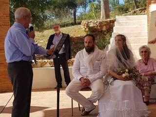 O casamento de Luís e Rosana