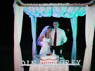 O casamento de Dina e Andrey