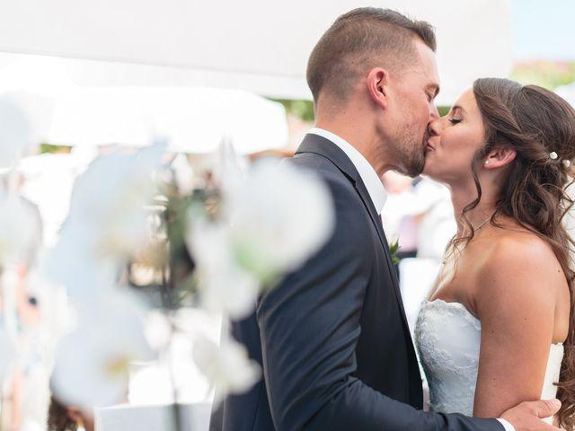 O casamento de Elodie e David