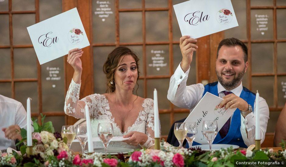 O casamento de Diogo e Inês em Merceana, Alenquer