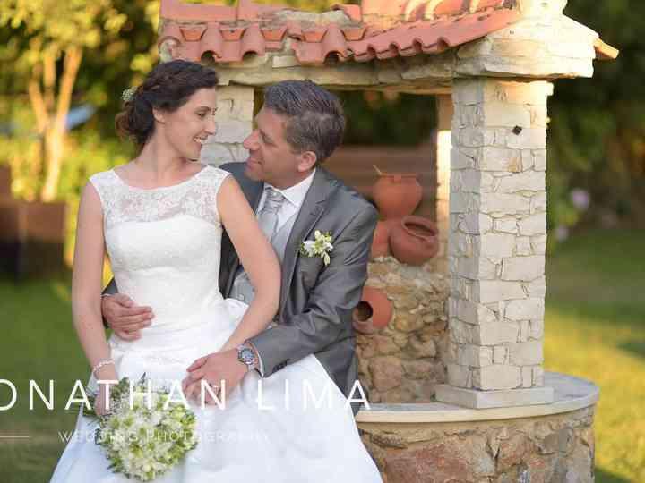 O casamento de Eunice e Luís