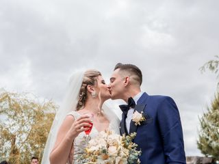 O casamento de Cláudia e Samuel