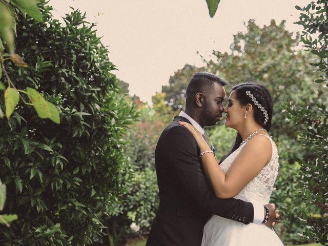 O casamento de Joana e Vitor
