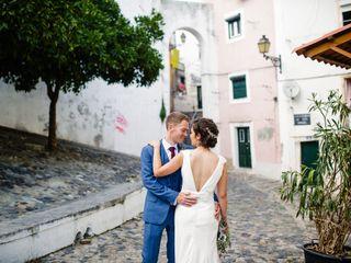 O casamento de Inês e Dave