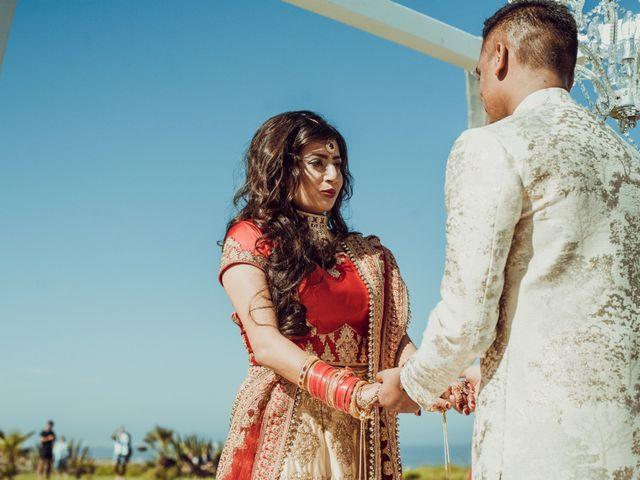 O casamento de Ekta e Karandeep
