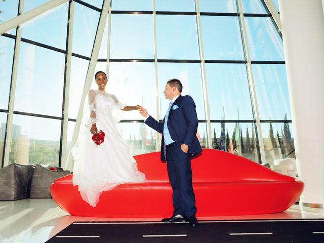 O casamento de Célia e Aristides