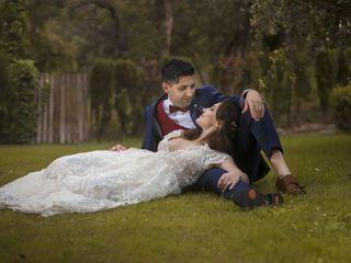 O casamento de Tânia e José
