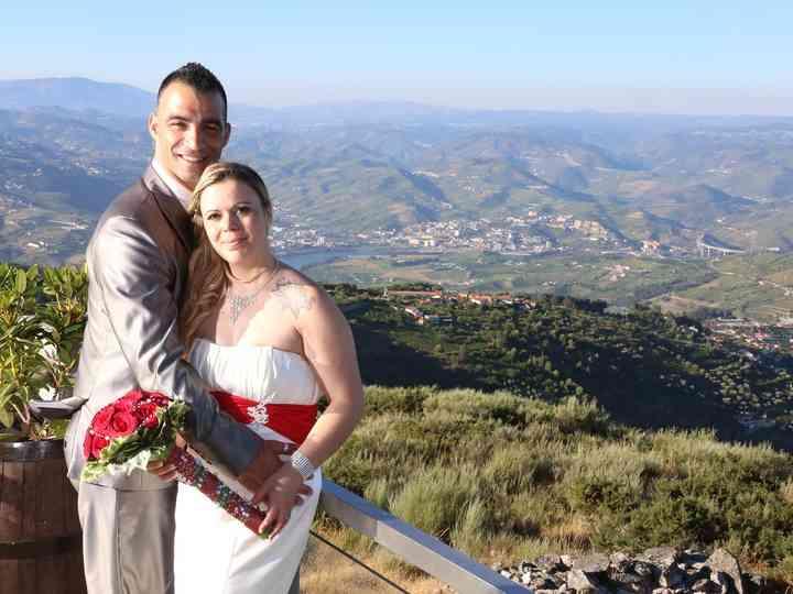 O casamento de Marisa e Cláudio