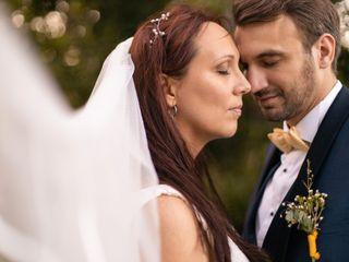 O casamento de Carine e Maxime