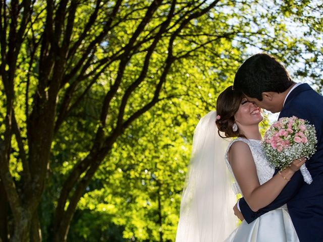 O casamento de Ângela e Jorge