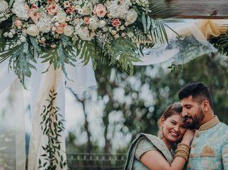 O casamento de Simran e Parvinder