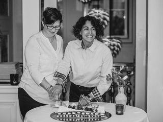 O casamento de Céline e Lizete