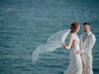 O casamento de Gillian e Ciaran