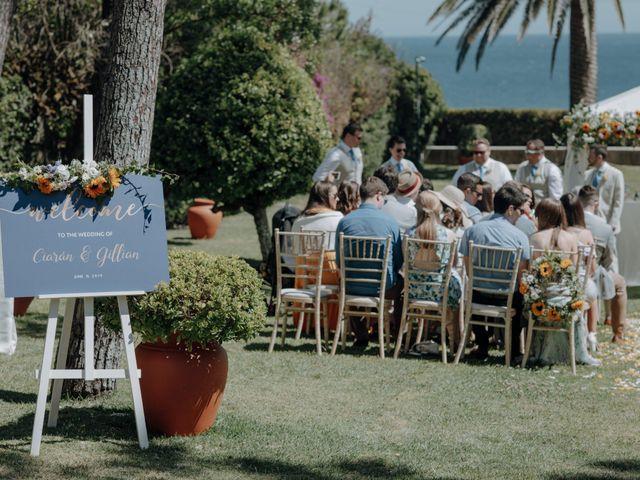 O casamento de Ciaran e Gillian em Guincho, Cascais 23
