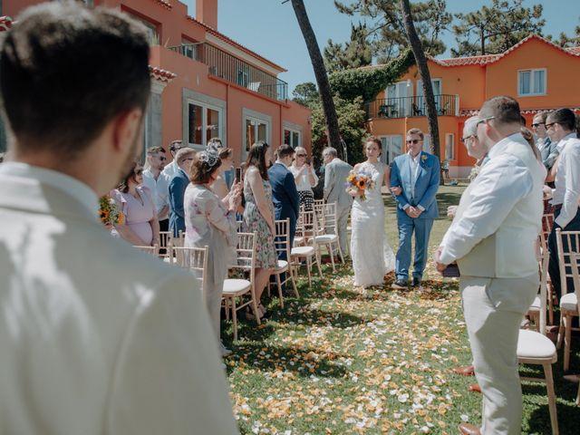 O casamento de Ciaran e Gillian em Guincho, Cascais 27