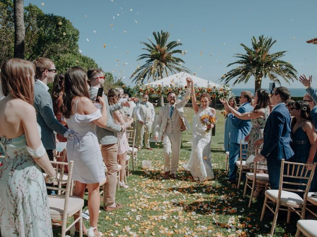 O casamento de Ciaran e Gillian em Guincho, Cascais 2