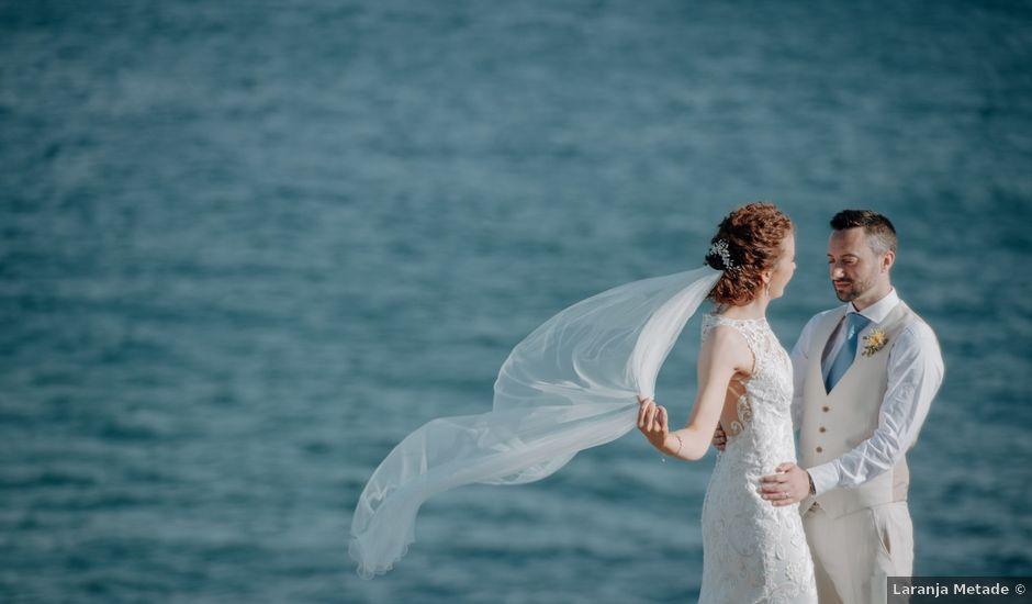 O casamento de Ciaran e Gillian em Guincho, Cascais
