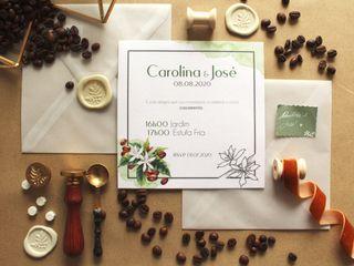 O casamento de Carolina e José 1
