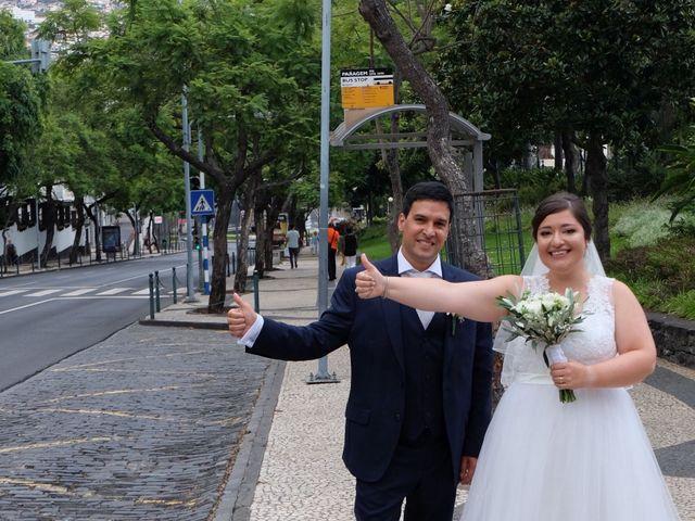 O casamento de Leandro e Concepcion em Machico, Madeira 5