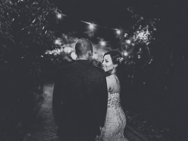 O casamento de Isa e Stelvio