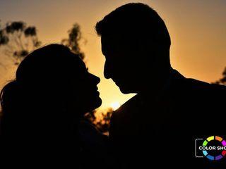 O casamento de Cláudia e Sérgio