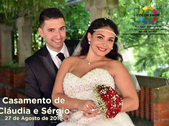 O casamento de Sérgio e Cláudia em Portela, Loures 11