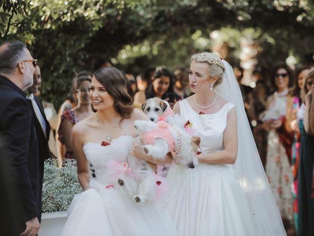 O casamento de Cláudia e Cláudia