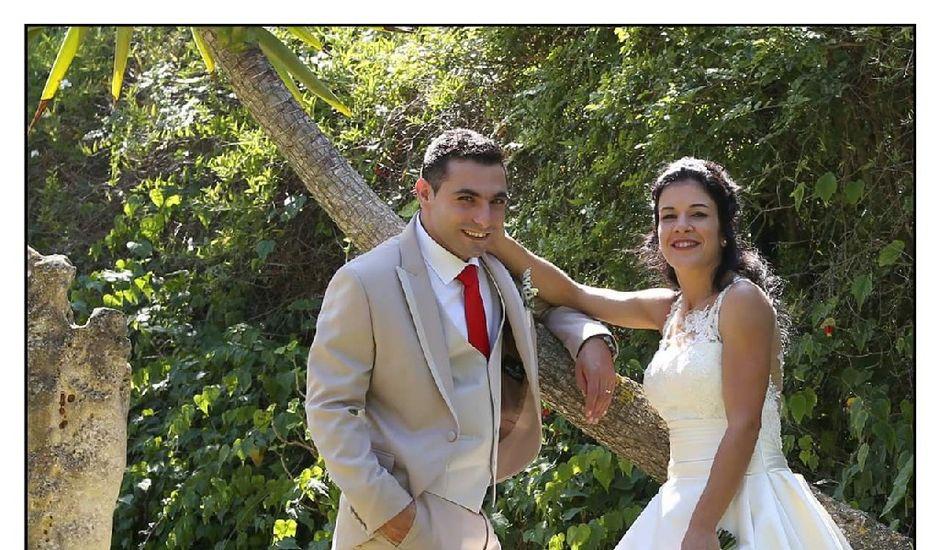 O casamento de Tiago  e Mafalda  em Alcobaça, Alcobaça
