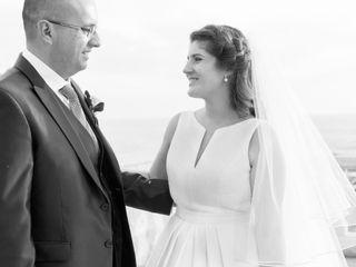 O casamento de Teresa e Carlos
