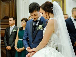O casamento de Flavie e Micael