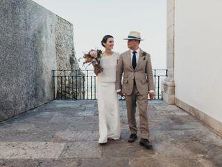 O casamento de Léna e Hector