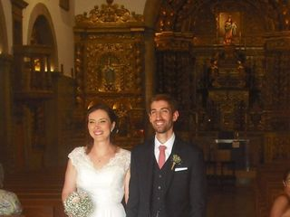 O casamento de Maria e André