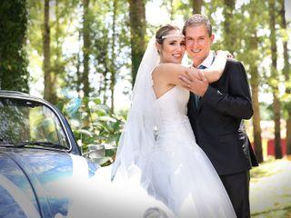 O casamento de Dina e Eduardo