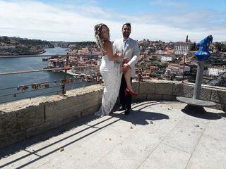 O casamento de Alessandra e Jorge